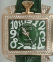 Green square watch fully-automatic mechanical big dial watch gaga fashion watch the trend of fashion table 314g 1