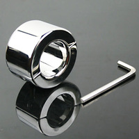 2013 100% the same with photo 100%real stainless steel /chastity/male adult sex toys ball stretcher/Adult sex toy/sex product
