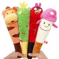 Cartoon animal plush massage stick back massage stick health care knock back stick wedding small gift