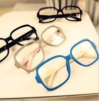 General Fashion elegant glasses frame plain lens men women glasses eyewear free shipping 088