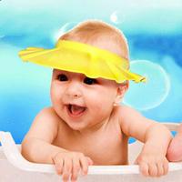Free Shipping  baby shampoo cap infant shampoo cap child shower cap baby hat adjustable thickening plus size
