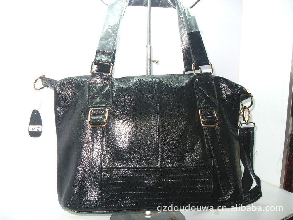 business bagGenerous fashion leather handbag new bag handbag leather handbag Korea single board bag handbags in Guangzhou(China (Mainland))
