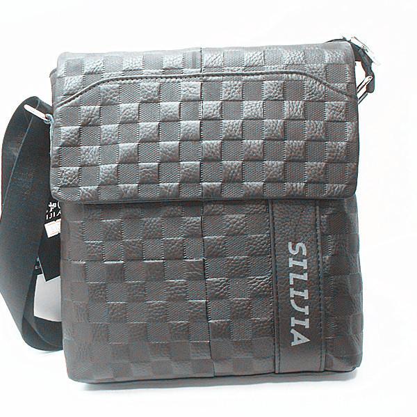 business bagSili Jia [Hong Kong] genuine new casual fashion Messenger bag man bag leather bag men's business bags(China (Mainland))