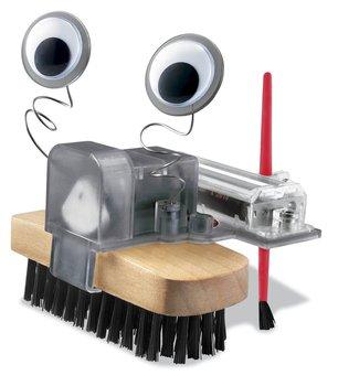 Lovely 4m brush robot brush robot toy
