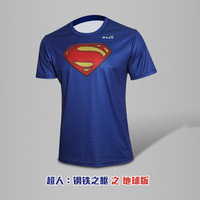 New Arrival G-Like Superman Summer Sports Casual Breathable Quick Dry jersey T shirt