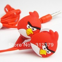 Hot Selling  Earphone Stereo Birds Earpiece Deep Bass 3.5mm with Box for Mp3 Tablet ipod Discount Good Cheap
