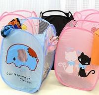 animal series folding laundry basket laundry bucket storage basket