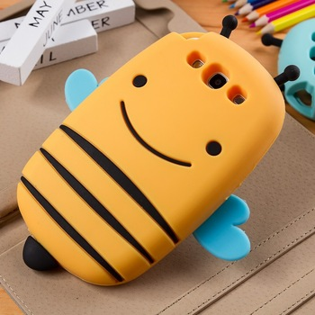 Cartoon little bees  for SAMSUNG   i9300 phone case i9300 silica gel sets SAMSUNG s3 mobile phone case