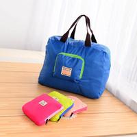 Folding storage bag  fashion eco-friendly travel portable equipment single shoulder bag