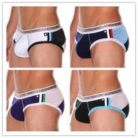 Ac  male panties cotton Mixed colors breathable briefs panties male trigonometric men's underwear