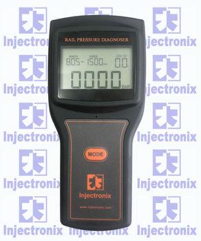 Rail pressure sensor tester