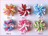 girls grosgrain ribbon bows hair bows Boutique korker bows hair clips 120pcs/lot