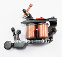 Free Shipping Professional Tattoo machine 10 coils handmade iron Tattoo gun WS-M366