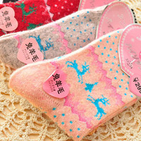 Women's socks cotton high quality thickening  cashmere rabbit wool  winter thermal  socks 12 pairs/lot c7576