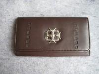 Brown formal long design wallet