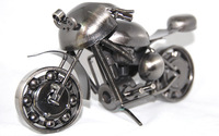 Free shipping bronze metal crafts sculpture home decoration vintage decor unique gift souvenir Motorcycle model iron handmade