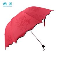 Folding umbrella water flower umbrella apollo three fold umbrella sweet princess umbrella
