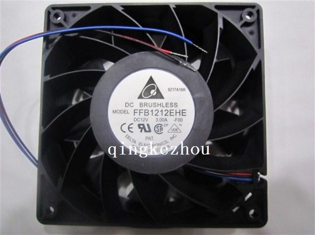 Delta FFB1212EHE F00 1238 12v 3.0A tachometer signal super server cooling fan(China (Mainland))