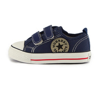 Best Selling!!  Children canvas shoes Velcro shoes sneakers shoes + Free Shipping