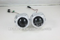 HID xenon  projector lens light  2.5 inch headlight with CCFL angel eye