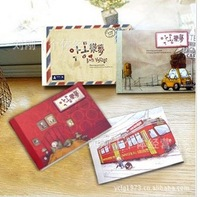 Yue Meng cute cartoon series Christmas cards post card / greeting card / postcard 144pcs/set FREE SHIPPING