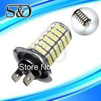 H7 102 SMD Pure White Fog Tail Turn Signal Driving 102 LED Car Light Bulb Lamp