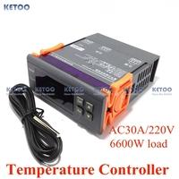 Max.30A Digital LCD Thermostat Temperature Regulator Controller with sensor