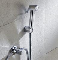 Free shipping Azos multifunctional toilet valve copper toilet angle valve spray gun set bidet mixing valve bidet