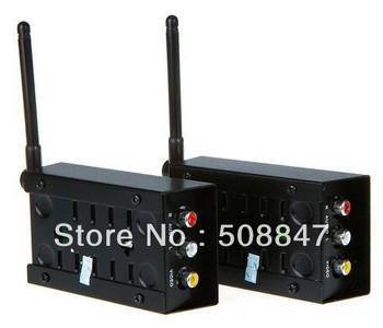 Wireless 2.4GHz 2.4G Audio Video Transmitter Receiver Sender 4 Channels A/V