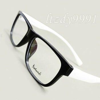 Black Plastic Glasses Frames Turning White : Black/White/Gray TR90 Plastic Full rim Optical EYEGLASS ...