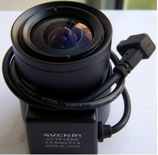 Varifocal Lens Auto IRIS CCTV Lens 3.5-8.0 MM F 1.4-64 CS lens for Box Security Camera zoom Lens for Surveillance camera(China (Mainland))