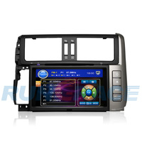 Toyota Prado Car DVD GPS ,2 din 8 inch Prado special DVD,with GPS,Bluetooth,TV,Game,Radio,etc Free shipping