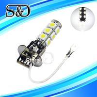H3 13 SMD 5050 Pure White Fog Parking Signal 13 LED Car Light Bulb Lamp