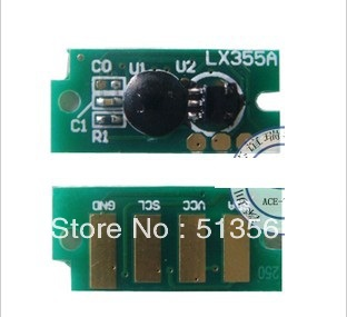 Compatible  Dell c1660w toner chip,Free shipping color  toner chip.high quality cartridge reset chip