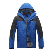 Free shipping ! ! ! 2013 new Men authentic brand new outdoor sports thick warm coat jacket large size M-3XL