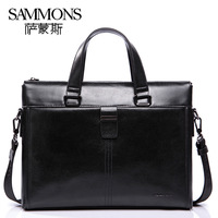 Brand Man bag cowhide handbag casual shoulder bag business messenger bag  briefcase genunine leather SA1976