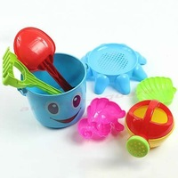 Free Shipping Lovely Cute Child Beach Toy Large Hourglass Sand Tools Baby Bath Toys Set