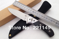 High Quality! COLT CT343 Outdoor Tools Fixed Blade Knife,8CR13Mov Ebony Handle Camping Hunting Knife.Free Shipping!