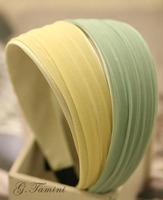 WHOLESALE! 12PCS/LOT Fashion Headwear Summer Chiffon Wide Headband Color Cloth Hair band for girls High Quality Free Shipping