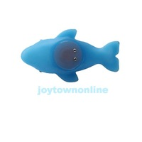 Baby Bath Toy Colorful LED Flashing Dolphin Lamp B #1JT