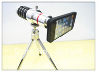 hot sale High quality 16 x Zoom Optical Lens Phone Telescope Camera telephoto Lens  for iphone5 Accessories  free shipping