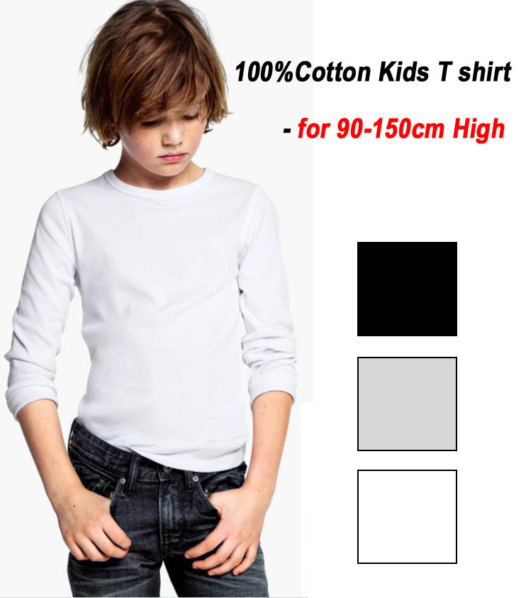 Boys&Girls Clothing Long-sleeve New Spring Autumn Cotton kids tennis T Shirt children's Shirts drop shipping(China (Mainland))