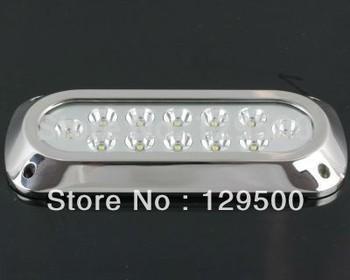 (2pc) 12x3W LED marine light/LED boat light/ LED underwater light Bar Shape Stainless Steel