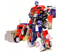 Fashion Robot,large 37X28CM Optimus Prime 3C Model
