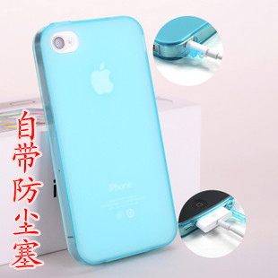 For apple   iphone5 mobile phone case iphone 5 set of clean water syncronisation dust plug phone case protective case