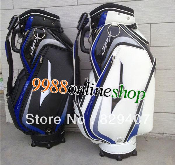 """Livraison gratuite à chaud 2013 jpx nouveau sac chariot de golf. 9. pouces. noir"""" ou"""" couleur blanche sac clubs, accessoires de golf."""