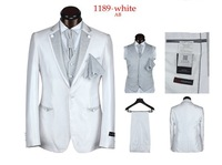 Free Shipping!!!2013 Men's Tuxedo Suit Fashion Dress Suit men's slim suits wedding suits for men men's 5  pieces S-4XL