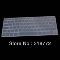 "10pcs Transparent clear Silicone Keyboard Cover Skin sticker for English French Spanish German UK/EU MacBook Pro air 13"" 15"" 17"""