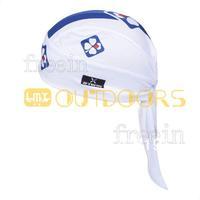Free Shipping! 2013 WHITE FDJ CAP Biker Bandana pirates scarf headsweats dress hats cycling head wear cap Quick-drying cap