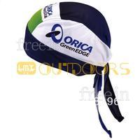 Free Shipping! 2013 greenedge orica CAP Biker Bandana pirates scarf headsweats dress hats cycling head wear cap Quick-drying cap